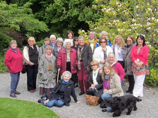 ISBA members with Wendy Walsh
