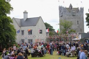 Galway Garden Festival 2013 at Claregalway Castle
