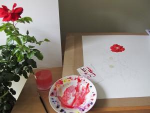 Yeats Rose - Work in progress 1