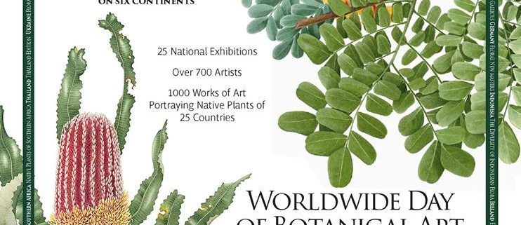 Poster for Worldwide Day of Botanical Art