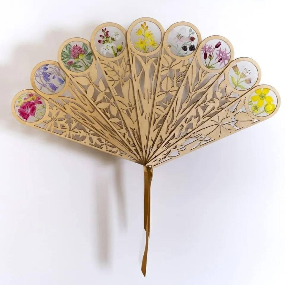 A photo of Hand Fan for Habitats by Yanny Petters